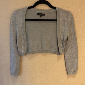Express Gray Cardigan